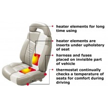 Sėdynės šildymas SEAT HEATER