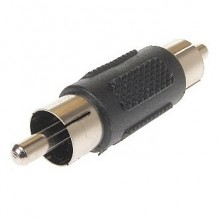 AV ADAP FF Cable joint RCA male male