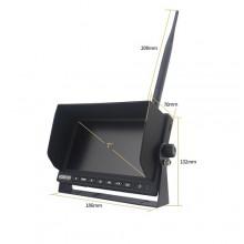 AHD belaidė kamera ir 7 colių monitorius komplektas TFT7HDW