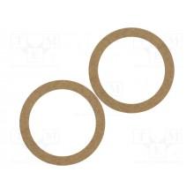 Žiedai garsiakalbiams MDF 165mm 3