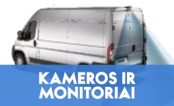 KAMEROS IR MONITORIAI